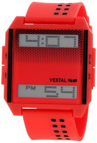 ベスタル ヴェスタル 腕時計 メンズ DIG023 【送料無料】Vestal Unisex DIG023 Digichord Ultra Thin Red Digital Watchベスタル ヴェスタル 腕時計 メンズ DIG023