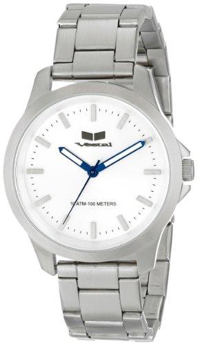 ベスタル ヴェスタル 腕時計 メンズ HEI3M08 【送料無料】Vestal Unisex HEI3M08 Heiloom Analog Display Japanese Quartz Silver Watchベスタル ヴェスタル 腕時計 メンズ HEI3M08