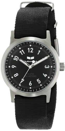ベスタル ヴェスタル 腕時計 メンズ ABZ3C01 Vestal Men's ABZ3C01 Alpha Bravo Zulu Stainless Steel Watch with Black Canvas Bandベスタル ヴェスタル 腕時計 メンズ ABZ3C01