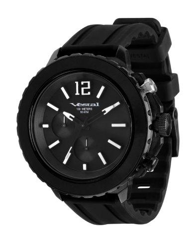 腕時計 ベスタル ヴェスタル メンズ YATCS01 【送料無料】Vestal Men's YATCS01 Yacht Black Watch腕時計 ベスタル ヴェスタル メンズ YATCS01