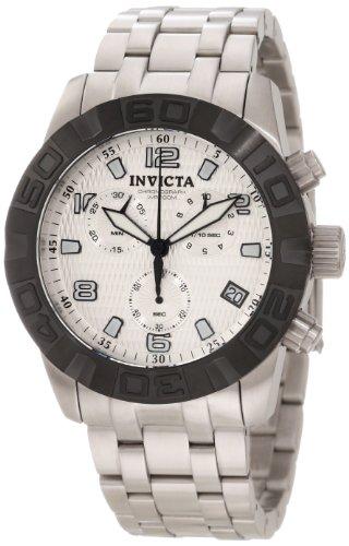 インヴィクタ インビクタ プロダイバー 腕時計 メンズ 11453 【送料無料】Invicta Men's 11453 Pro Diver Chronograph Silver Textured Dial Stainless Steel Watchインヴィクタ インビクタ プロダイバー 腕時計 メンズ 11453