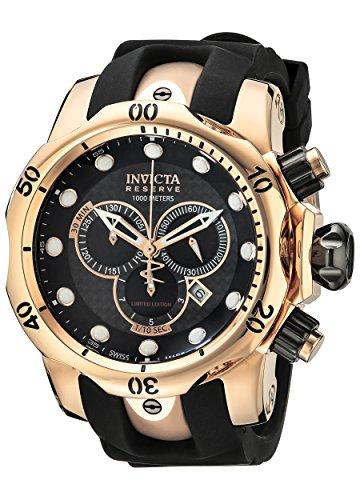 インヴィクタ インビクタ ベノム 腕時計 メンズ ILE0361ASYB Invicta Men's ILE0361ASYB Venom Analog Display Swiss Quartz Black Watchインヴィクタ インビクタ ベノム 腕時計 メンズ ILE0361ASYB
