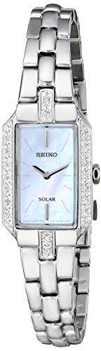 セイコー 腕時計 レディース SUP233 【送料無料】Seiko Women's SUP233 Dress Solar Analog Display Japanese Quartz Silver Watchセイコー 腕時計 レディース SUP233