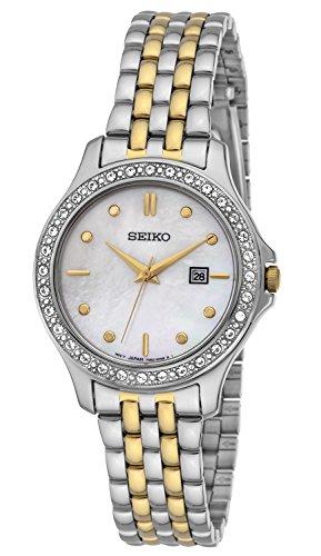 セイコー 腕時計 レディース SUR871 【送料無料】Seiko Three-Hand Date Leather - White Women's watch #SUR871セイコー 腕時計 レディース SUR871