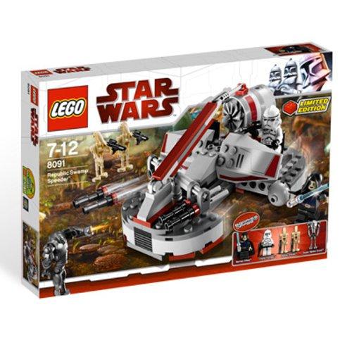 レゴ スターウォーズ 4559580 LEGO Star Wars Set #8091 Republic Swamp Speederレゴ スターウォーズ 4559580