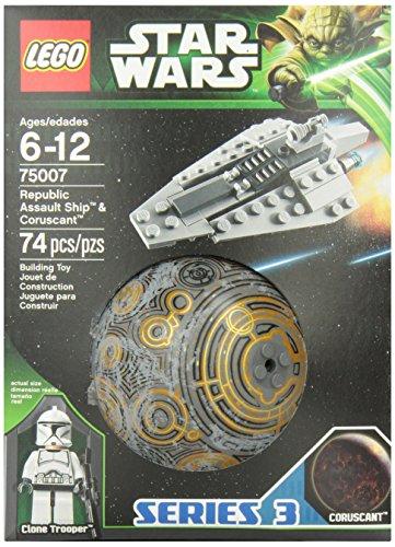 レゴ スターウォーズ 6025055 【送料無料】LEGO Star Wars Republic Assault Ship and Coruscant (75007)レゴ スターウォーズ 6025055