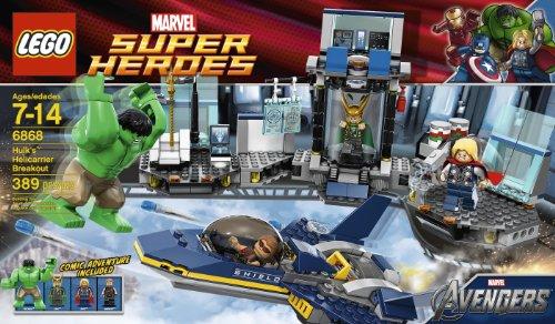 レゴ スーパーヒーローズ マーベル DCコミックス スーパーヒーローガールズ 4654657 【送料無料】LEGO Hulk Helicarrier Breakout 6868レゴ スーパーヒーローズ マーベル DCコミックス スーパーヒーローガールズ 4654657