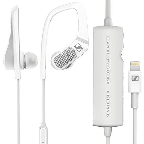 海外輸入ヘッドホン ヘッドフォン イヤホン 海外 輸入 AMBEO Smart Headset Sennheiser AMBEO Smart Headset (iOS) ? Active Noise Cancellation, Transparent Hearing and 3D Sound Recordi海外輸入ヘッドホン ヘッドフォン イヤホン 海外 輸入 AMBEO Smart Headset