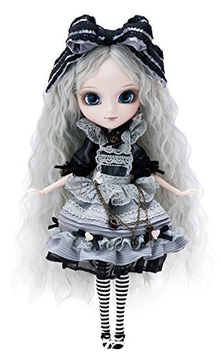 プーリップドール 人形 ドール P-171 Pullip Romantic Alice Monochrome ver. (Romantic Alice monochrome version) P-171 about 310mm ABS-painted action figureプーリップドール 人形 ドール P-171