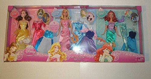 眠れる森の美女 スリーピングビューティー オーロラ姫 ディズニープリンセス Mattel Disney Princess Forever Fairtytale Gift Set (Ariel Sleeping Beauty and Belle)眠れる森の美女 スリーピングビューティー オーロラ姫 ディズニープリンセス