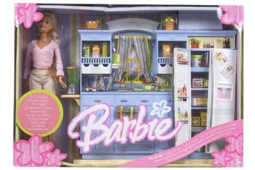 バービー バービー人形 日本未発売 プレイセット アクセサリ J1548 Barbie Play All Day Kitchen Doll #1バービー バービー人形 日本未発売 プレイセット アクセサリ J1548