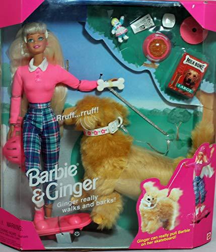 バービー バービー人形 日本未発売 プレイセット アクセサリ 【送料無料】Mattel Barbie 17116 1997 Barbie & Ginger The Dogバービー バービー人形 日本未発売 プレイセット アクセサリ