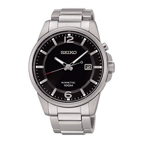セイコー 腕時計 メンズ SKA665P1 【送料無料】Seiko Kinetic Black Dial SKA665P1 Men's Classic Automatic Sports Watchセイコー 腕時計 メンズ SKA665P1