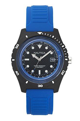 ノーティカ 腕時計 メンズ NAPIBZ002 【送料無料】Nautica Men's Ibiza Quartz Sport Watch with Silicone Strap, Black, 22 (Model: NAPIBZ002)ノーティカ 腕時計 メンズ NAPIBZ002