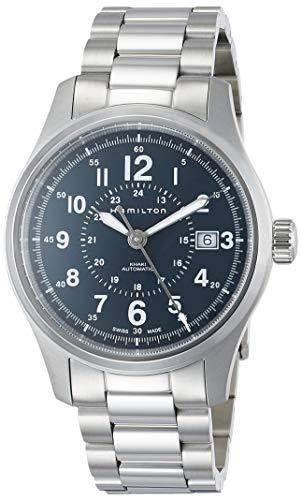 ハミルトン 腕時計 メンズ H70305143 【送料無料】Hamilton Khaki Field Automatic Blue Dial Men's Steel Watch H70305143ハミルトン 腕時計 メンズ H70305143