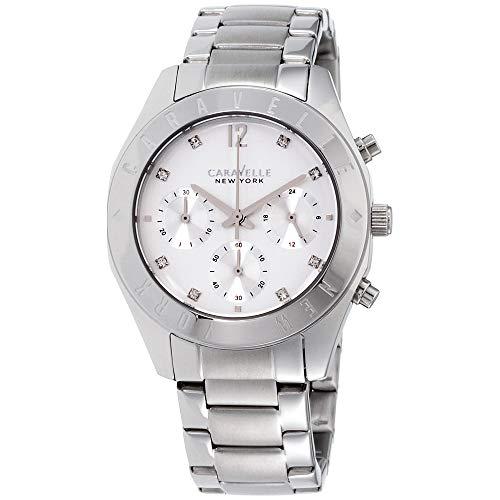 ブローバ 腕時計 レディース 43L190 【送料無料】Caravelle New York Women's Quartz Stainless Steel Dress Watch (Model: 43L190)ブローバ 腕時計 レディース 43L190