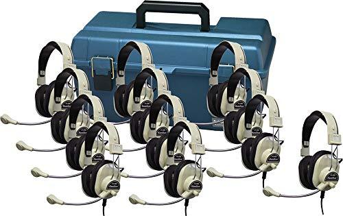 海外輸入ヘッドホン ヘッドフォン イヤホン 海外 輸入 LCP/12/HA66M Hamilton Buhl Lab Pack, 12 HA-66M Deluxe Multimedia Headphones in a Carry Case海外輸入ヘッドホン ヘッドフォン イヤホン 海外 輸入 LCP/12/HA66M