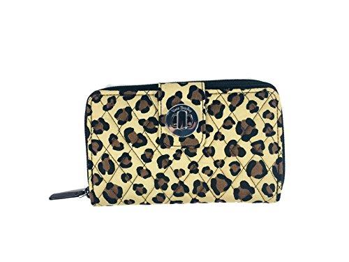 ヴェラブラッドリー ベラブラッドリー アメリカ フロリダ州マイアミ 日本未発売 Vera Bradley Turnlock Wallet (Leopard)ヴェラブラッドリー ベラブラッドリー アメリカ フロリダ州マイアミ 日本未発売