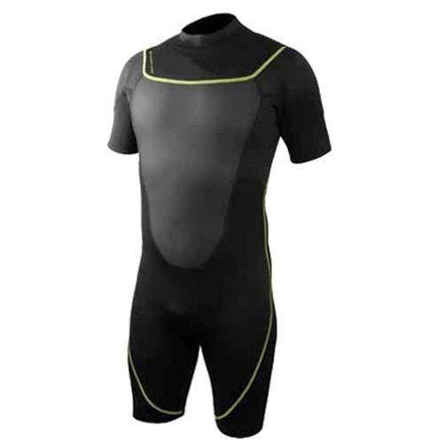シュノーケリング マリンスポーツ 1003477 Deep See Men's 3mm Shorty Wetsuit, Black, Largeシュノーケリング マリンスポーツ 1003477