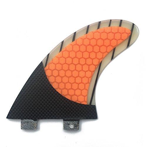 サーフィン フィン マリンスポーツ UPSURF Surfing Fcs Fins G7 size carbon+fiberglass surfboard 3 fins M/L-size (G7)サーフィン フィン マリンスポーツ