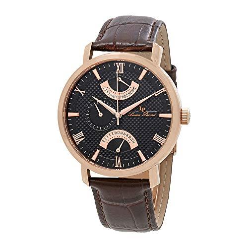 ルシアンピカール 腕時計 メンズ LP-10340-RG-01-BRW 【送料無料】Lucien Piccard Verona GMT Retrograde Men's Watch 10340-rg-01-brwルシアンピカール 腕時計 メンズ LP-10340-RG-01-BRW