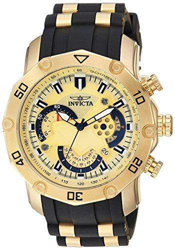 腕時計 インヴィクタ インビクタ プロダイバー メンズ 23427 【送料無料】Invicta Men's Pro Diver Stainless Steel Quartz Watch with Silicone Strap, Black, 25 (Model: 23427)腕時計 インヴィクタ インビクタ プロダイバー メンズ 23427