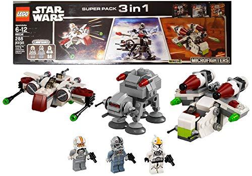 レゴ スターウォーズ 【送料無料】LEGO Star Wars Super Pack 3 in 1 (66534)レゴ スターウォーズ