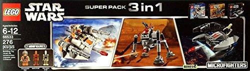 レゴ スターウォーズ Lego Star Wars Super Pack 3 in 1 (66533)レゴ スターウォーズ