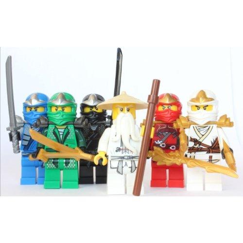 レゴ ニンジャゴー LEGO Ninjago - Sensei Wu + 5 ZX Ninjas - Lloyd, Kai, Cole, Jay & Zaneレゴ ニンジャゴー