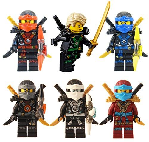 レゴ ニンジャゴー LEGO? Ninjago?: Ninja's set of 6 - Lloyd, Nya, Zane, Cole, Jay, Kai Deepstone Minifiguresレゴ ニンジャゴー