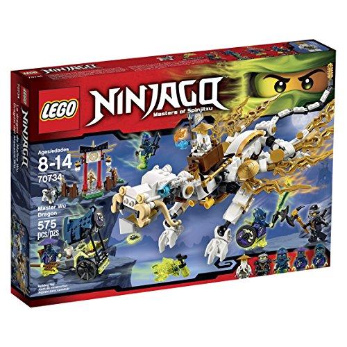 レゴ ニンジャゴー 6099836 LEGO Ninjago 70734 Master WU Dragon Ninja Building Kitレゴ ニンジャゴー 6099836