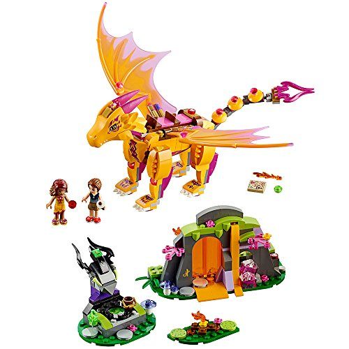 レゴ エルフ 6137007 LEGO Elves Fire Dragon's Lava Cave 41175 Creative Play Toy for 8- to 12-Year-Oldsレゴ エルフ 6137007