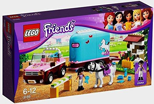 レゴ フレンズ 3186 【送料無料】LEGO Friends 3186 Emma's Horse Trailerレゴ フレンズ 3186