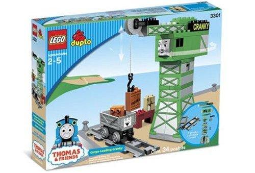 レゴ デュプロ 3301 【送料無料】LEGO DUPLO Thomas & Friends - Cargo-Loading Crankyレゴ デュプロ 3301
