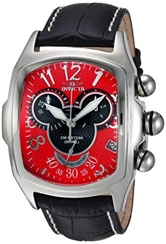 インヴィクタ インビクタ 腕時計 メンズ ディズニー 24523 Invicta Men's Disney Limited Edition Stainless Steel Quartz Watch with Leather Calfskin Strap, Black, 24 (Model: 24523)インヴィクタ インビクタ 腕時計 メンズ ディズニー 24523