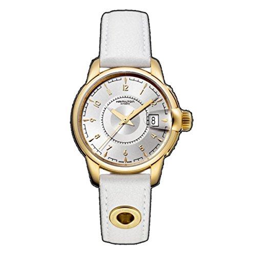 ハミルトン 腕時計 レディース H40445955 Hamilton Women's H40445955 Rail Road Mother-Of-Pearl Dial Watchハミルトン 腕時計 レディース H40445955