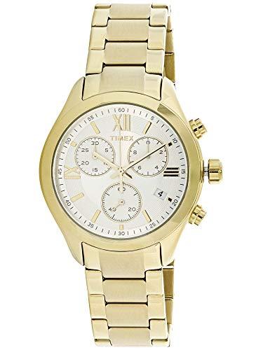 タイメックス 腕時計 レディース TW2P93700 Timex Women's Miami Chronograph TW2P93700 Gold Stainless-Steel Quartz Fashion Watchタイメックス 腕時計 レディース TW2P93700