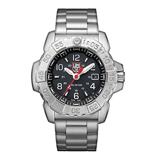 ルミノックス アメリカ海軍SEAL部隊 ミリタリーウォッチ 腕時計 メンズ 3252 【送料無料】Luminox Men's SEA Swiss-Quartz Watch with Stainless-Steel Strap, Silver, 24 (Model: 3252ルミノックス アメリカ海軍SEAL部隊 ミリタリーウォッチ 腕時計 メンズ 3252