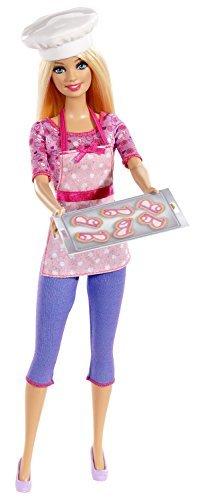 春夏新作モデル バービー バービーキャリア バービー人形 バービーキャリア バービーアイキャンビー バービー人形 職業 Import Barbie doll import occupation Barbie World model Barbie Careers Cookie Chef Fashion Doll [parallel import goods]バービー バービー人形 バービーキャリア バービーアイキャンビー 職業, サンエルペットワールド:0aa9154e --- rki5.xyz