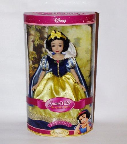白雪姫 スノーホワイト ディズニープリンセス Disney Princess Snow White 14 inch Keepsake Porcelain Doll by Brass Key白雪姫 スノーホワイト ディズニープリンセス