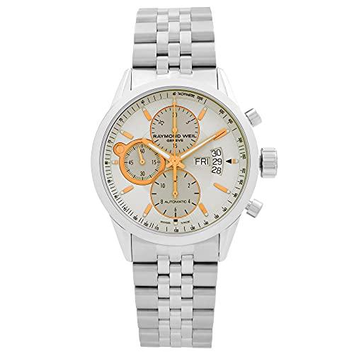 レイモンドウィル 腕時計 メンズ スイスの高級腕時計 7730 ST 65025送料無料 Raymond Weil Freelancer Ivory Dial Stainless Steel Mens Watch 7730 ST 65025レイモンドウィル 腕時計 メンズ スイスの高級腕時計 7730 ST 65025uXZTwPikOl