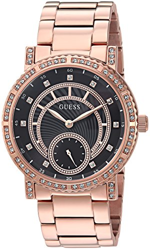 ゲス GUESS 腕時計 レディース U1006L2 【送料無料】GUESS Women's Stainless Steel Crystal Casual Watch, Color: Rose Gold-Tone (Model: U1006L2)ゲス GUESS 腕時計 レディース U1006L2