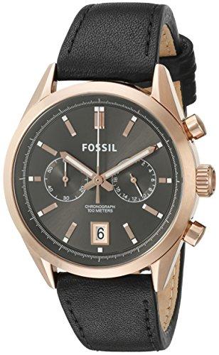 フォッシル 腕時計 メンズ CH2991 Fossil Men's CH2991 Del Rey Chronograph Leather Watch -Blackフォッシル 腕時計 メンズ CH2991