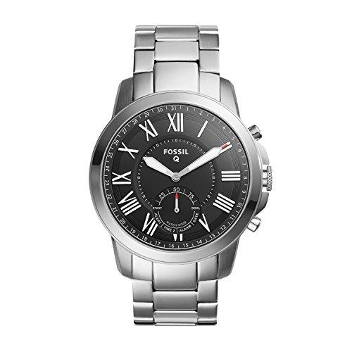 フォッシル 腕時計 メンズ FTW1158 Fossil Hybrid Smartwatch - Q Grant Stainless Steel FTW1158フォッシル 腕時計 メンズ FTW1158