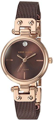 腕時計 アンクライン レディース AK/3003RGBN 【送料無料】Anne Klein Women's Quartz Metal and Stainless Steel Dress Watch, Color:Brown腕時計 アンクライン レディース AK/3003RGBN