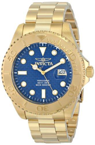 腕時計 インヴィクタ インビクタ プロダイバー メンズ 15193 【送料無料】Invicta Men's 15193 Pro Diver Analog Display Swiss Quartz Gold-Plated Watch, Blue腕時計 インヴィクタ インビクタ プロダイバー メンズ 15193