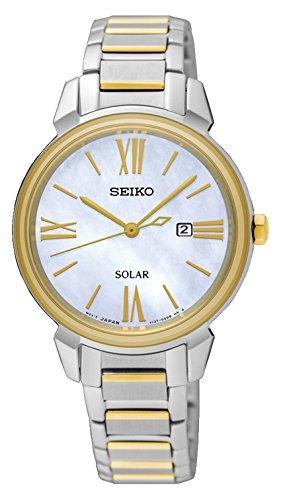 腕時計 セイコー レディース SUT324P1 【送料無料】Seiko Women's Analogue Solar Powered Watch with Stainless Steel Strap SUT324P1腕時計 セイコー レディース SUT324P1