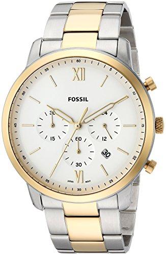 フォッシル 腕時計 メンズ FS5385 Fossil Men's Neutra Chrono Quartz Watch with Stainless-Steel Strap, Silver, 22 (Model: FS5385)フォッシル 腕時計 メンズ FS5385