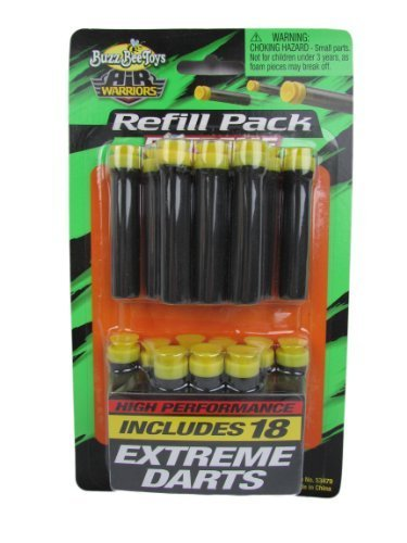 バズビー ブラスター アメリカ 直輸入 ソフトダーツ 53479 Buzz Bee Toys Air Warriors Extreme Darts Refill (Pack of 18)バズビー ブラスター アメリカ 直輸入 ソフトダーツ 53479