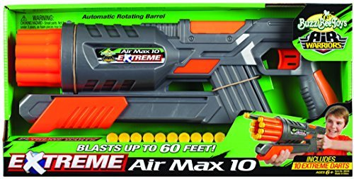 バズビー ブラスター アメリカ 直輸入 ソフトダーツ Buzz Bee Toys Air Warriors EXTREME Air Max 10 Blaster by Buzz Beeバズビー ブラスター アメリカ 直輸入 ソフトダーツ